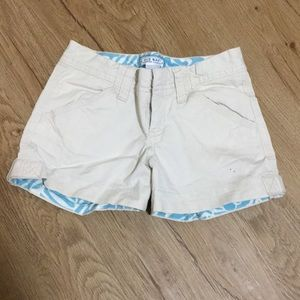Cute Old Navy khaki shorts - size 7